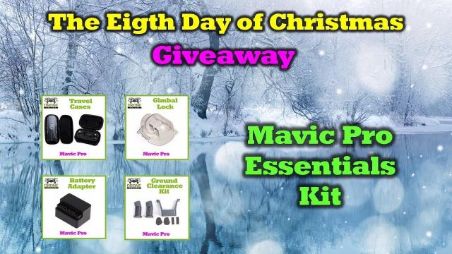 Mavic Pro Goodies -  Day 8 of the 12 Days of Drone Valley Christmas Giveaways