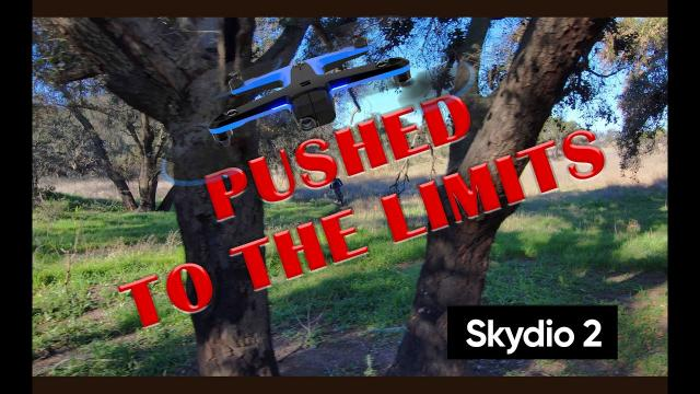 Skydio 2 Pushed to the Limits - AMAZING Tracking and Obstacle Avoidance
