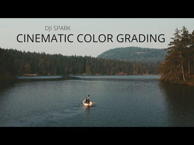 DJI SPARK Cinematic Color Grading Tutorial FCPX