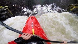 GoPro: Kayaking Over 70ft Outlet Falls