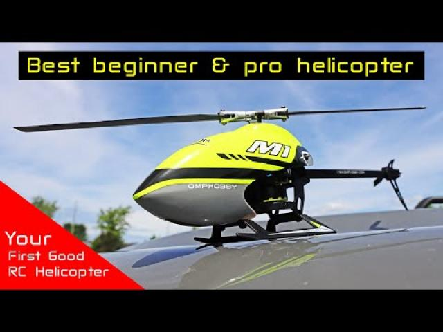 So, you wanna fly RC Helicopters - This is a good one - OMP Hobby M1 Brushless