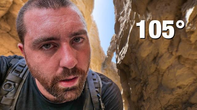 Alone at the Bottom of a Desert Canyon - Panasonic S5
