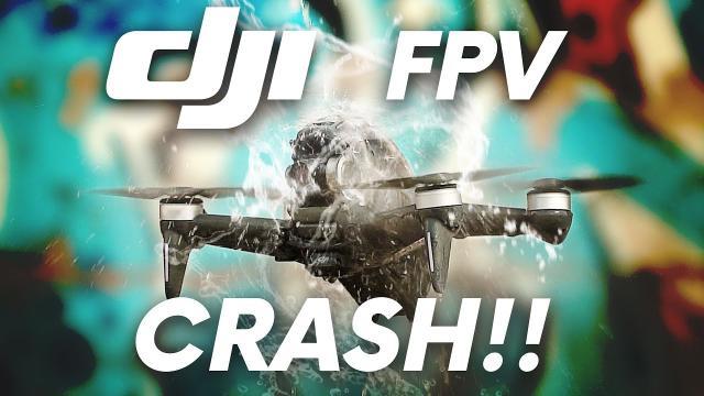 DJI FPV CRASH!!