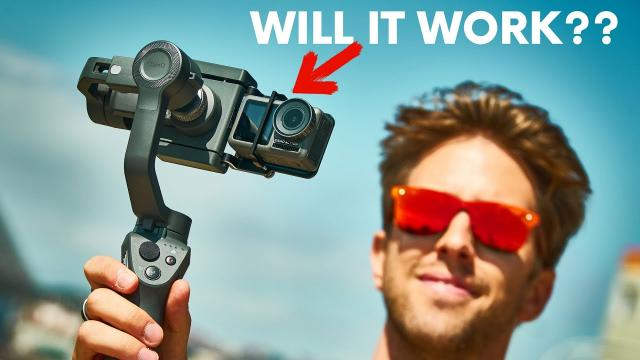 DJI Osmo Action on an Osmo Mobile. Will it work?