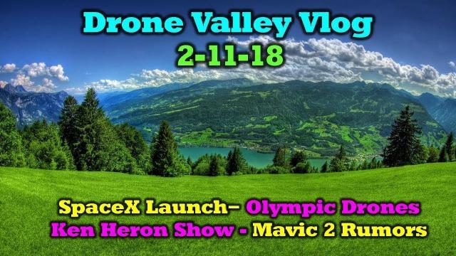 Vlog #12 - Mavic Pro 2 - SpaceX - Shooting Star - Ken Heron