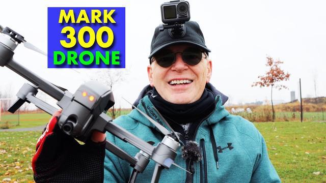 MARK 300 Camera Drone - Cool Design - Review