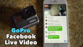GoPro How To: Facebook Live Streaming - GoPro Tip #649 | MicBergsma