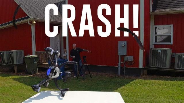 XDynamics Evolve drone (Extreme Propeller Test FAIL) - KEN HERON