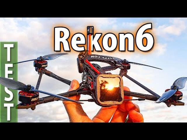 Longrange Cruiser - Rekon 6 (Review, analog to DJI conversion, Testflights, ND Filter,...)