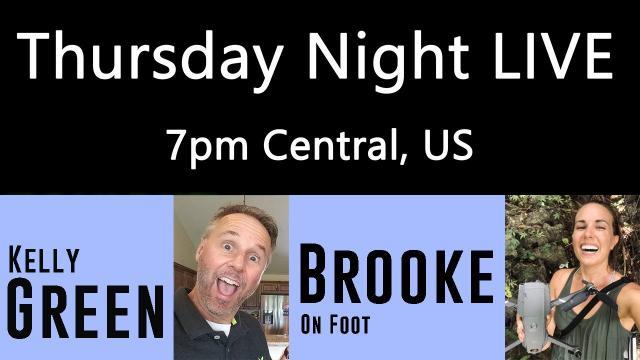 Ken Heron - TNL (Show #169) Brooke on Foot