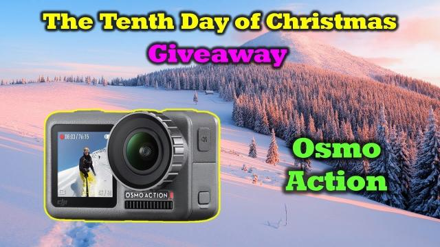 Free DJI Osmo Action - 12 Days of Drone Valley Christmas Giveaways 2019