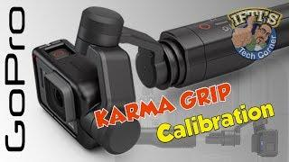 GoPro Karma Grip : Fix an un-level horizon with Calibration!