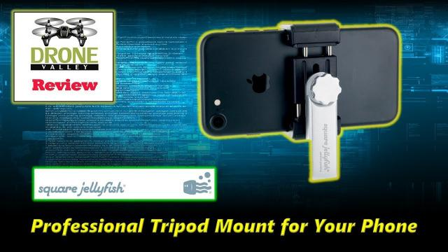 Square Jellyfish Tripod Phone Mount Review