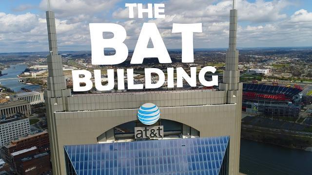 DJI Phantom 4 PRO - The BAT Building [Tallest in Tennessee] 4K