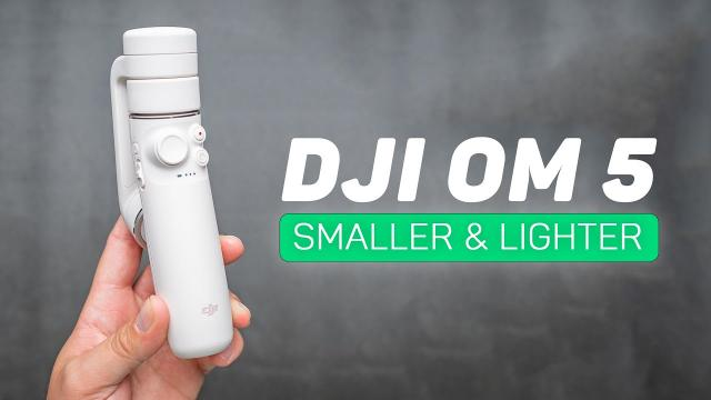 DJI OM 5 Review - Smaller, Lighter, & More Powerful!