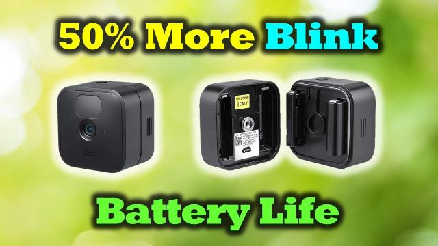 Never Change Your Blink Batteries Again!