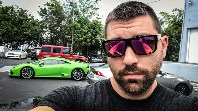 Lamborghinis and Gators in MIAMI