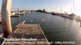 Steadicam Smoothee Tests With The GoPro Hero2&Hero3