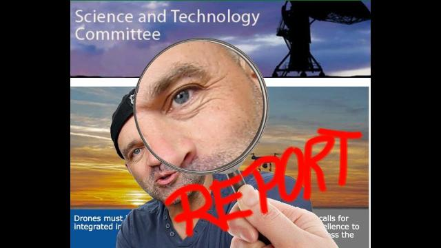 Dishing the Drone Dirt! The UK GOV Science & Tech Report released.