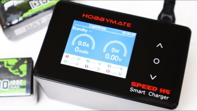 Wow! A Smart & Fast Battery Charger - Hobbymate Speed H6