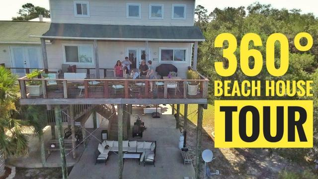360° Tour of our Beach House with the #Insta360oneR
