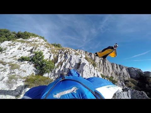 GoPro: Uli Emanuele Wingsuits Down Italy Mountainside