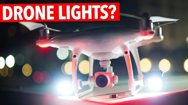 LUMECUBES ON A DRONE? OH YEA!