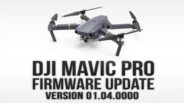 DJI Mavic Pro Firmware Update v04.0000 - Quickshots & Dynamic Home Point