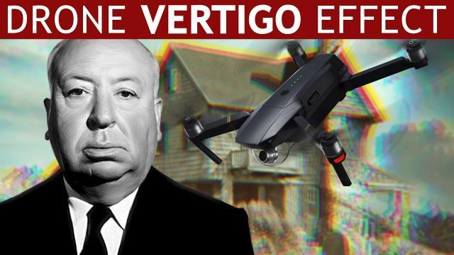 VERTIGO EFFECT with a DRONE Quick and Easy Dolly Zoom