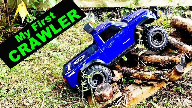 Wow! My First RC Truck Crawler - Traxxas TRX 4 Sport vs TRX 4 Ford Bronco