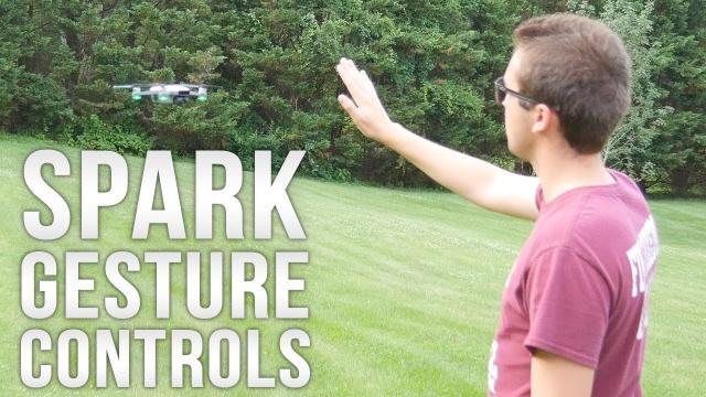 DJI Spark Full Gesture Mode Tutorial