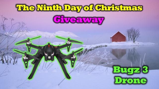 Free Bugs 3 Drone -  Day 9 in Our 12 Days of Drone Valley Christmas Giveaways