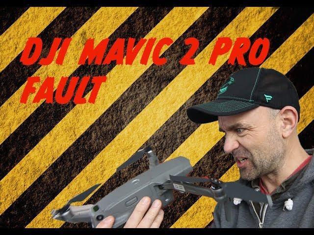 DJI Mavic 2 Pro Sensor fault. Drone Lands by its self ...
