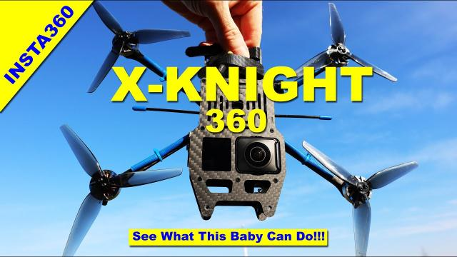 The X-Knight 360 will blow your mind! Review with Insta360 Camera