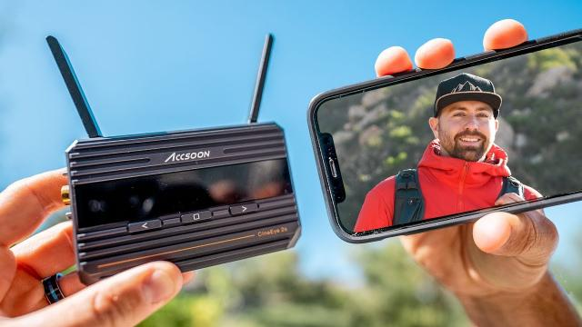 Reliable Budget Wireless Video Transmitter - Accsoon CineEye 2s
