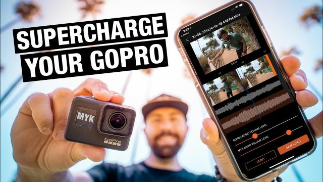 How to make GOPRO Audio NOT SUCK with the MYK APP