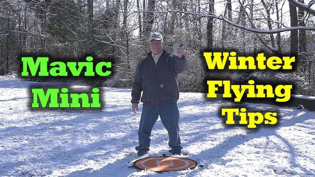 Mavic Mini - Cold Weather Flying Tips!